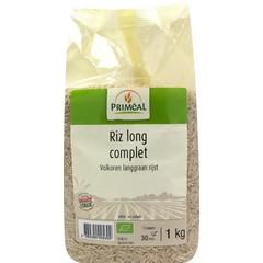 Primeal Volkoren langgraan rijst (1 kilogram)