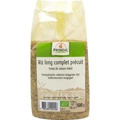 Primeal Volkoren langgraan rijst voorgekookt (500 gram)