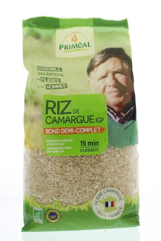 Primeal Primeal Halfvolkoren ronde rijst camargue (1 kilogram)