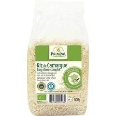 Primeal Halfvolkoren langgraan rijst camargue (500 gram)