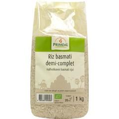 Primeal Halfvolkoren basmati rijst (1 kilogram)