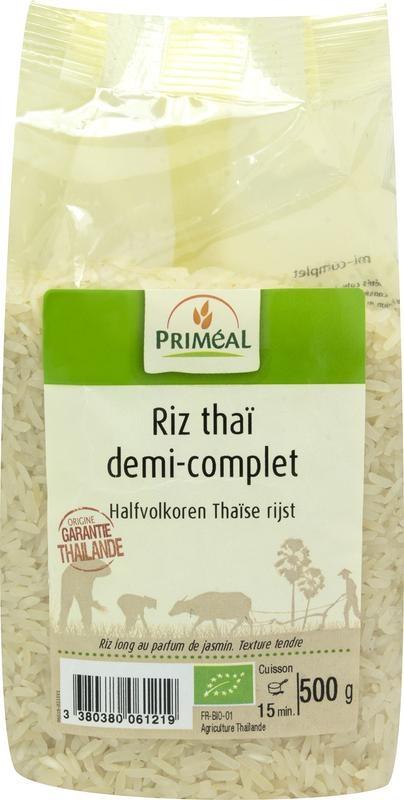 Primeal Primeal Halfvolkoren Thaise rijst (500 gram)