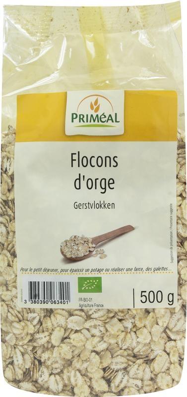 Primeal Primeal Gerstvlokken (500 gram)