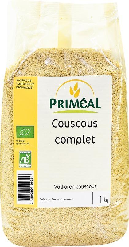 Primeal Primeal Couscous volkoren (1 kilogram)