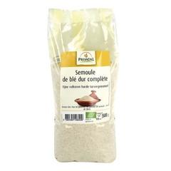 Primeal Fijn volkoren harde tarwegriesmeel (500 gram)