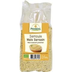 Primeal Mais boekweit griesmeel (500 gram)