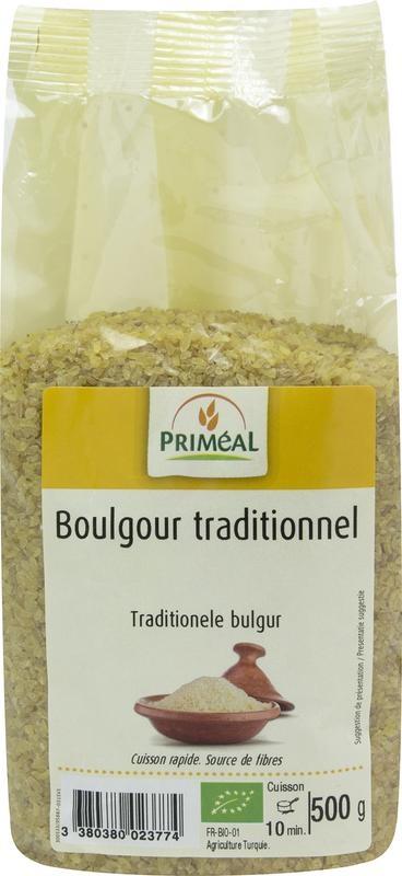 Primeal Primeal Bulgur traditioneel (500 gram)