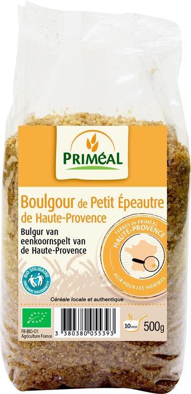 Primeal Primeal Bulgur van eenkornspelt uit de Haute-Provence (500 gram)