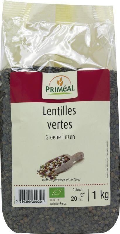 Primeal Primeal Linzen groen (1 kilogram)