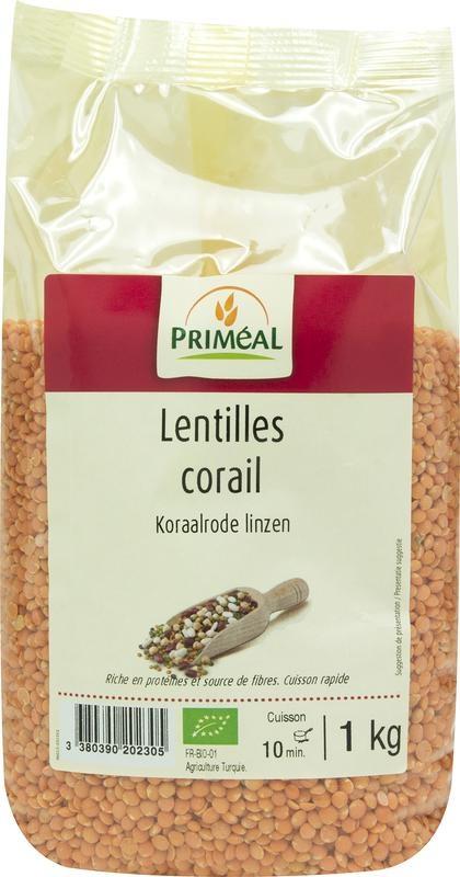 Primeal Primeal Linzen koraalrood (1 kilogram)