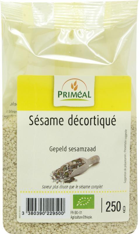 Primeal Primeal Gepeld sesamzaad (250 gram)