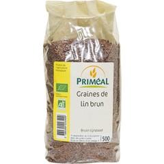Primeal Lijnzaad bruin (500 gram)