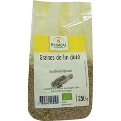 Primeal Lijnzaad goudblond (250 gram)