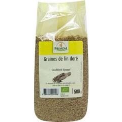 Primeal Lijnzaad goudblond (500 gram)