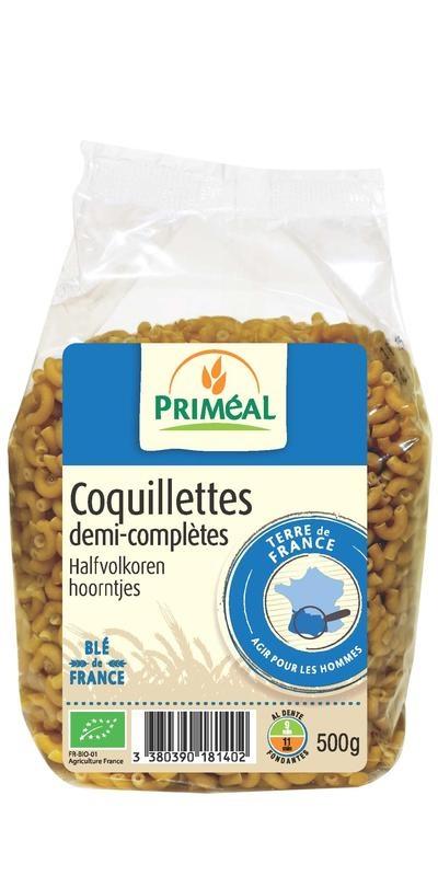 Primeal Primeal Halfvolkoren hoorntjes (500 gram)