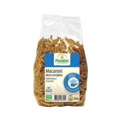 Primeal Halfvolkoren macaroni (500 gram)