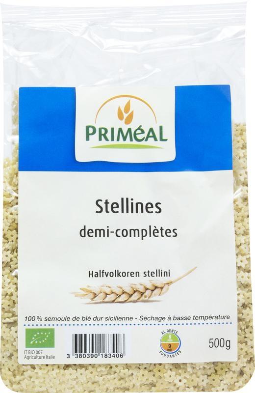 Primeal Primeal Halfvolkoren stellini (500 gram)