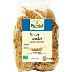 Primeal Volkoren macaroni (500 gram)