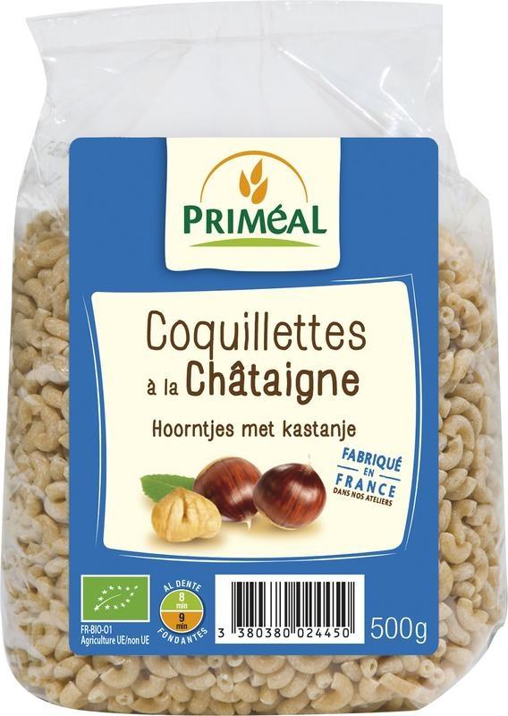 Primeal Primeal Hoorntjes met kastanje (500 gram)