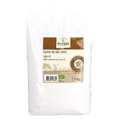 Primeal Tarwemeel helder borsa type 65 (1 kilogram)