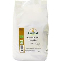 Primeal Tarwemeel volkoren borsa 110 (1 kilogram)
