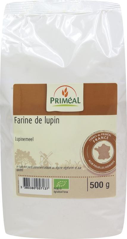 Primeal Primeal Lupinemeel (500 gram)