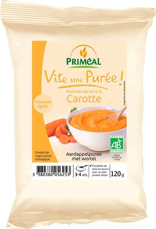 Primeal Primeal Instant aardappelpuree met wortel (120 gram)
