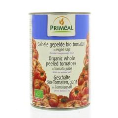 Primeal Gepelde tomaten zonder zout (400 gram)