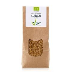 Vitiv Lijnzaad blond (500 gram)