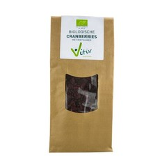 Vitiv Cranberries rietsuiker (250 gram)