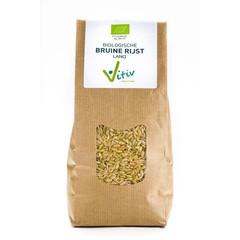 Vitiv Rijst bruin lang (1 kilogram)