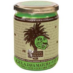 Amanprana Gula java matcha + vitamine D (400 gram)