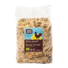Ekoland Basis muesli (750 gram)