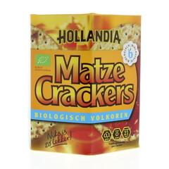 Hollandia Matze cracker volkoren (100 gram)