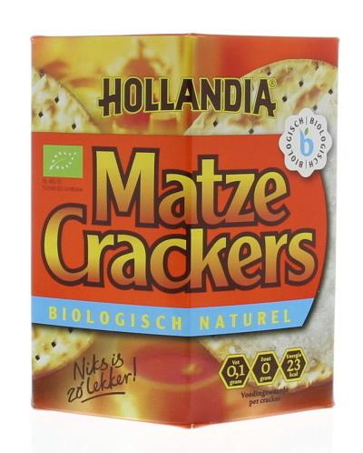 Hollandia Hollandia Matze cracker naturel (100 gram)