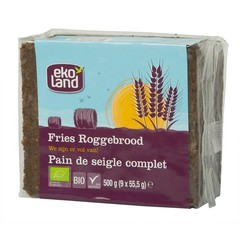 Ekoland Fries roggebrood (500 gram)