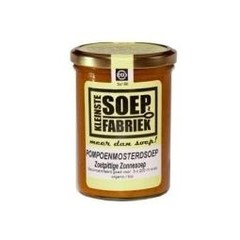 Kleinstesoepfabr Pompoen mosterd soep (400 ml)