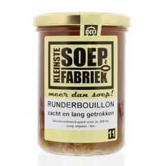 Kleinstesoepfabr Runderbouillon (400 ml)