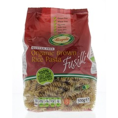 Rizopia Rijst pasta fusilli (500 gram)