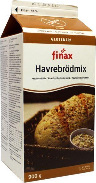 Finax Finax Haverbroodmix (900 gram)