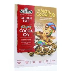 Orgran Itsy bites cocoa o's (300 gram)