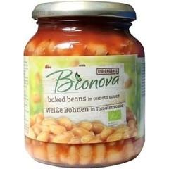 Bionova Witten bonen in tomatensaus (340 gram)