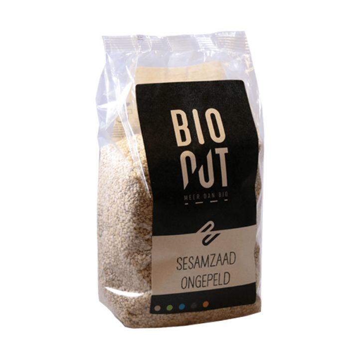 Bionut Bionut Sesamzaad ongepeld eko (500 gram)