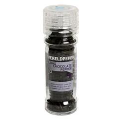 Esspo Wereldpeper molen long chocolate pepper (50 gram)