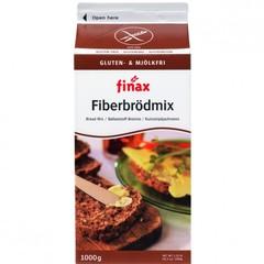 Finax Bakmix bruin vezelrijk (1 kilogram)