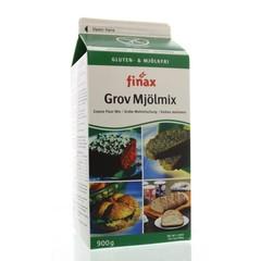 Finax Coarse flourmix bruin (900 gram)