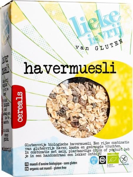 Lieke Is Vrij Lieke Is Vrij Haver muesli (450 gram)