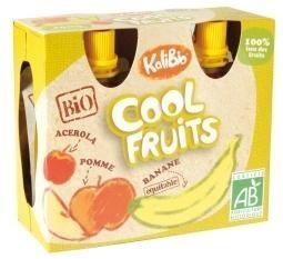 Kalibio Kalibio Cool fruit appel/banaan 90 gram (4 stuks)
