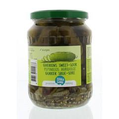 Terrasana Augurken fris zoet/zuur (670 gram)