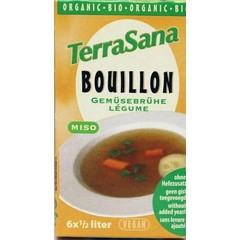 Terrasana Groente bouillon blokjes gistvrij (64 gram)